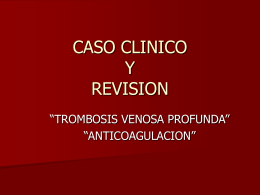 CASO CLINICO Y REVISION