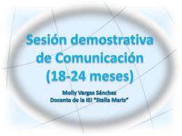 Sesión demostrativa de psicomotricidad