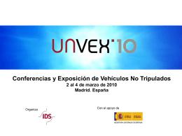 UNVEX`10 Exposición de Vehículos No Tripulados