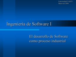 Diseño de Sistemas I - Prof. Gabriel Matonte