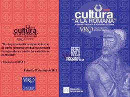 Actividades VRO - Diputación de Palencia