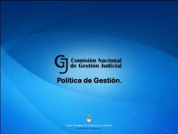 Objetivo - PNCJ – Plan Nacional de Capacitación Judicial