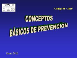 Conceptos básicos de Prevención de Riesgos - AURA-O