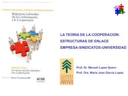 Presentación ppt Manuel López Quero