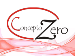 Slogan, Vision, Mision Concepto Zero.
