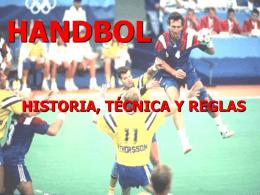 Presentación handball - Colegio Madre Paulina