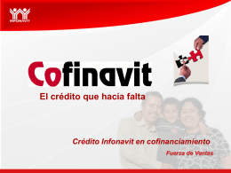 Crédito Cofinavit