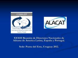 alacat - Dirección Nacional de Aduanas