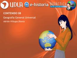 Contenido 08 - Geografía General Universal - E