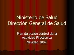 Ministerio de Salud Dirección General de Salud