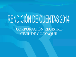 CRCG General - Registro Civil