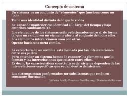 Teoría General De Los Sistemas.
