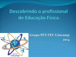 Descobrindo o profissional de Educação Física - FEF