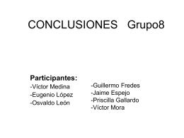 Grupo nº 8