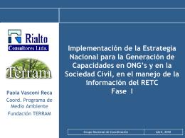 Diapositiva 1 - Ministerio del Medio Ambiente