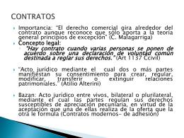Contratos (Presentación)