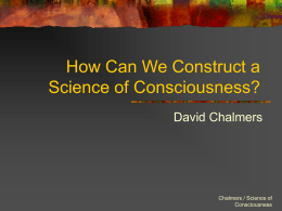How Can We Construct a Science of