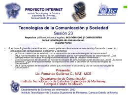 Sesión 23 - Fernando Gutiérrez :: Tecnología y Sociedad