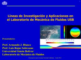 B5:Armando Blanco-Mecánica de fluidos.