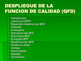 Que es QFD!?¿