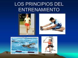 LOS PRINCIPIOS DEL ENTRENAMIENTO