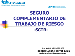 SCTR_LEY - Cámara de Comercio de Huancayo