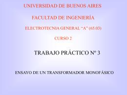 Trabajo Práctrico Nº 3 - Universidad de Buenos Aires