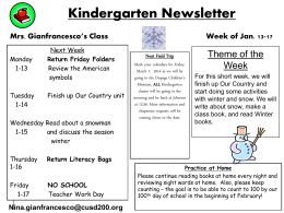 Next Week - Community Unit School District 200