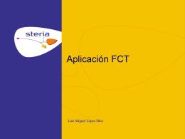 Presentación FCT