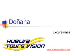 Parque de Doñana - Servicios que ofrece Huelva Tours Vision
