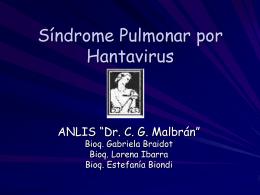 Síndrome Pulmonar por Hantavirus
