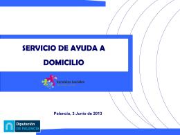 Ayuda a Domicilio - Diputación de Palencia