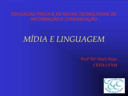 Mídia e Linguagem