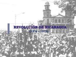 REVOLUCIÓN DE NICARAGUA