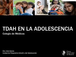 TDAH ADOLESC