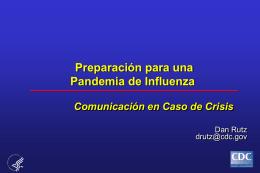 Preparación para Gripe Aviar