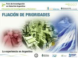 Investigación científica en Argentina