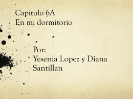 Capitulo 6A - Bienvenidos