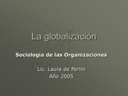 La_globalizacion - Universidad Gastón Dachary