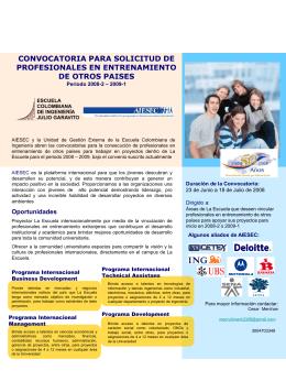 Diapositiva 1 - Escuela Colombiana de Ingeniería