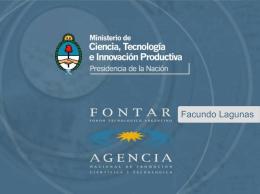 fondo tecnologico argentino fontar