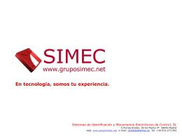 Presentación Empresa Español