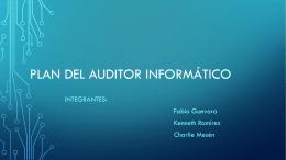 Plan del Auditor Informático