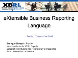 Enrique Bonsón - Asociación XBRL España