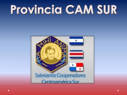 CAM SUR - Salesianos Cooperadores / Guatemala