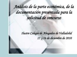 activo corriente - Ilustre Colegio de Abogados de Valladolid