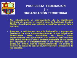 propuesta federacion - federación de peñas barcelonistas de