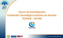 Diapositiva 1 - Fundación Tecnológica Antonio de Arévalo