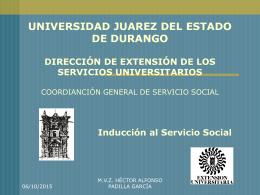 UNIVERSIDAD JUAREZ DEL ESTADO DE DURANGO DIRECCIÓN