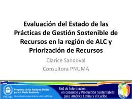 Evaluación del Estado de las Prácticas de Gestión Sostenible de